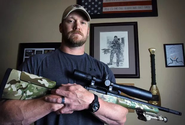 Chris Kyle em foto de 2012 (Foto: Paul Moseley/The Fort Worth Star-Telegram/AP)