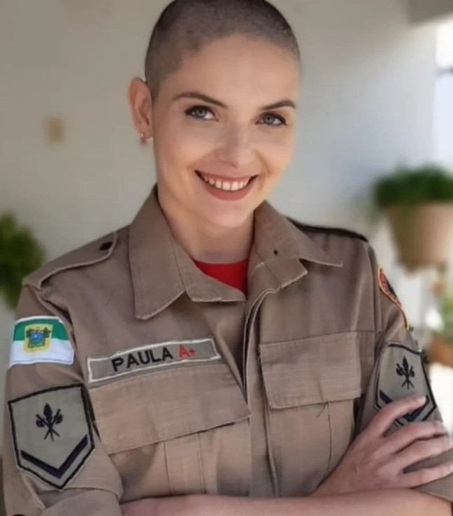 Ana Paula Targino tem 33 anos e descobriu o câncer de mama neste ano — Foto: Cedida