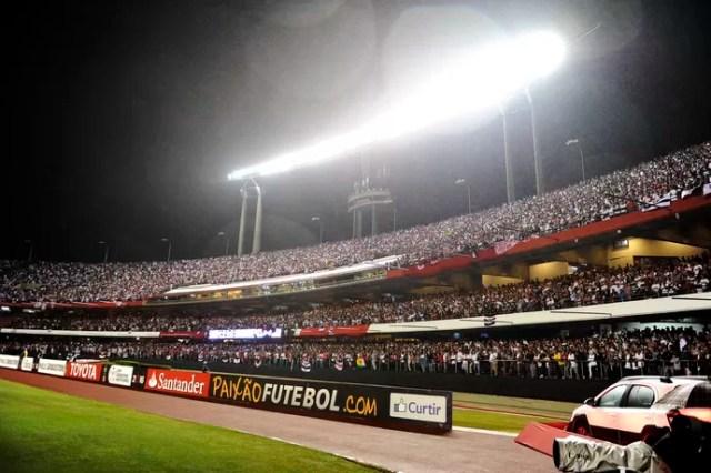 São Paulo Atlético Libertadores Morumbi (Foto: Marcos Ribolli)