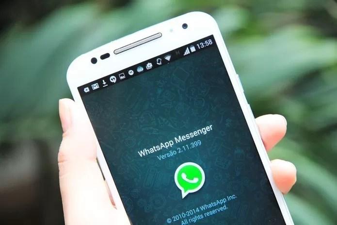 WhatsApp é o aplicativo mais utilizado pelos brasileiros (Foto: Anna Kellen Bull/TechTudo) (Foto: WhatsApp é o aplicativo mais utilizado pelos brasileiros (Foto: Anna Kellen Bull/TechTudo))