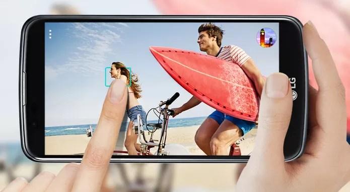 LG K10 oferece 4G e tem modelo com TV Digital (Foto: Divulgação/LG)