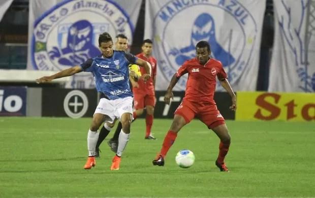 Diego Felipe Avaí x Vila Nova (Foto: Jamira Furlani/Avaí FC)