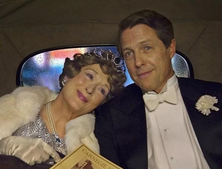 Meryl Streep e Hugh Grant em cena de 'Florence: Quem é essa mulher?' (Foto: Divulgação)