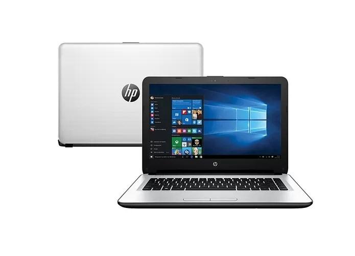 HP 14-AC121BR traz 8 GB de memória RAM e Radeon HD 8670M