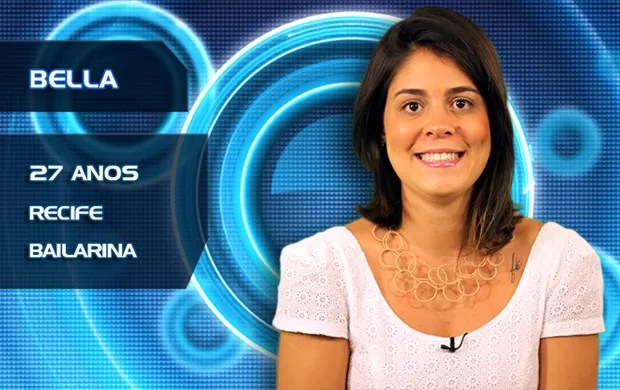 Bella (Foto: TV Globo/BBB)
