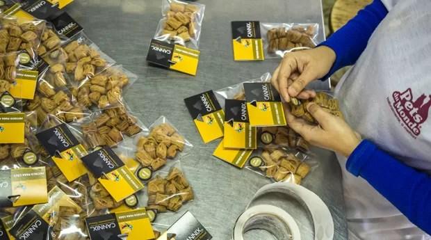 Pets du Monde: empresa faz alimentos para cães e gatos (Foto: Ricardo Jaeger)