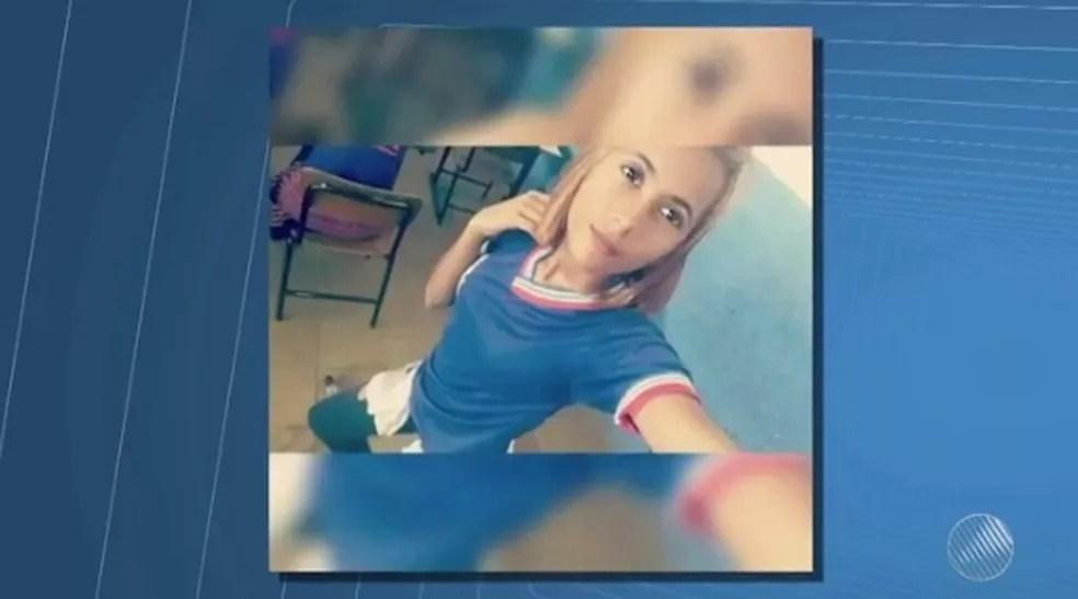 Adolescente desapareceu na BA (Foto: Reprodução/ TV São Francisco)