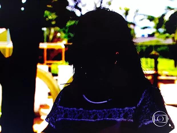 Batizada como Raimunda, moradora do DF que pediu na Justiça mudança de nome para Débora por causa de chacotas (Foto: TV Globo/Reprodução)