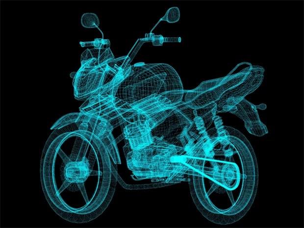 Nova moto 150 da Yamaha (Foto: Divulgação)