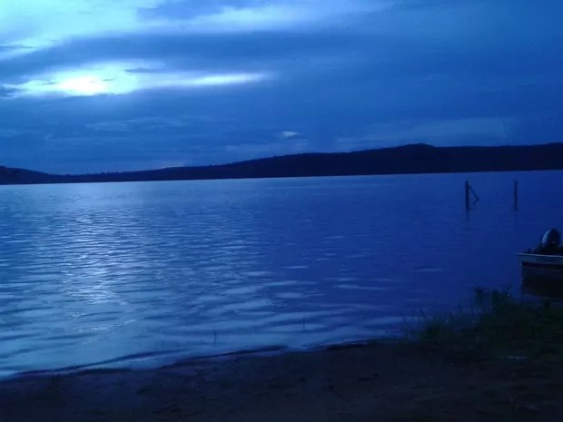 Lago onde o acidente aconteceu na tarde de quarta-feira (24) (Foto: Isadora Cristina/Divulgação)