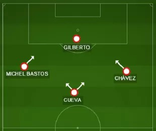 No lugar de Kelvin, Chávez se sentiria mais à vontade e mostraria velocidade (Foto: GloboEsporte.com)