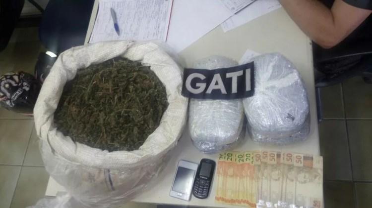 Material apreendido na operação em Cabrobó (Foto: Divulgação/ PMPE)