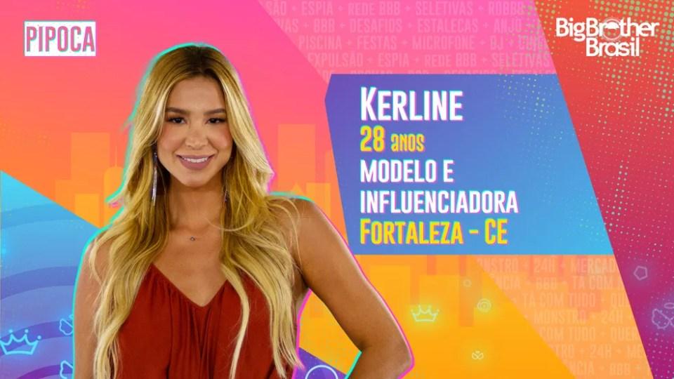 Kerline, BBB21 — Foto: Globo