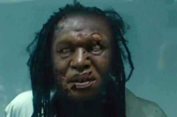 Falsa foto de vítima zombie do Ebola se espalhou pelas redes sociais (Foto: Reprodução/Twitter)
