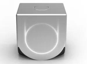 Imagem do Ouya, console de plataforma aberta que ainda não tem data de lançamento (Foto: Divulgação)