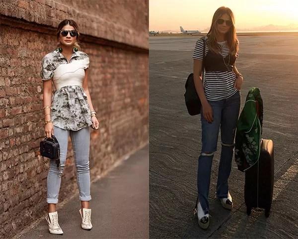 Thassia Naves incorporou o visual ao seu guarda-roupa (Foto: Rerpdoução/Instagram)