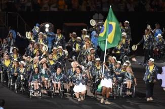 Cerimônia de abertura da Paralimpíada Rio 2016 - Shirlene Coelho Brasil (Foto: André Durão)
