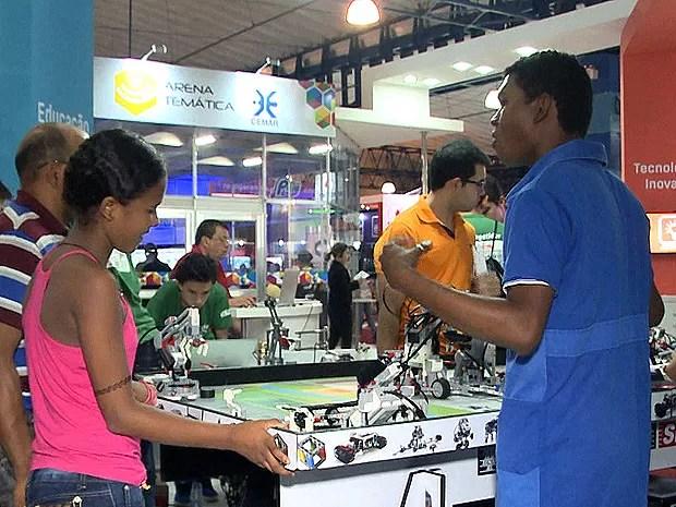 Programação se estende até o próximo sábado (31), em São Luís (MA) (Foto: Reprodução / TV Mirante)