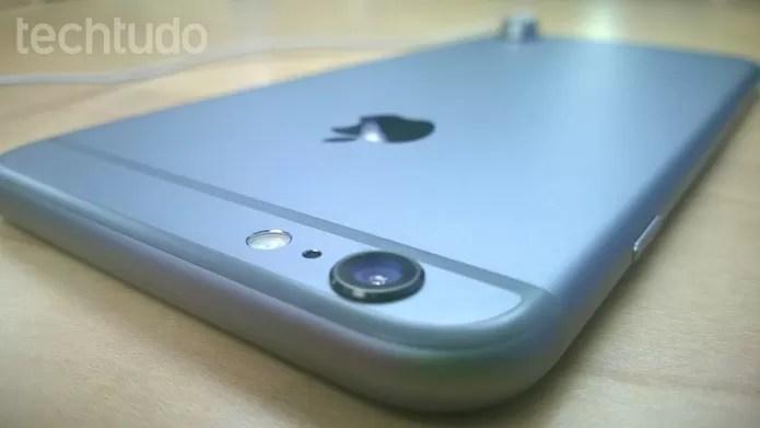 A câmera do iPhone está entre uma das melhores do mercado (Foto: Elson de Souza/TechTudo)
