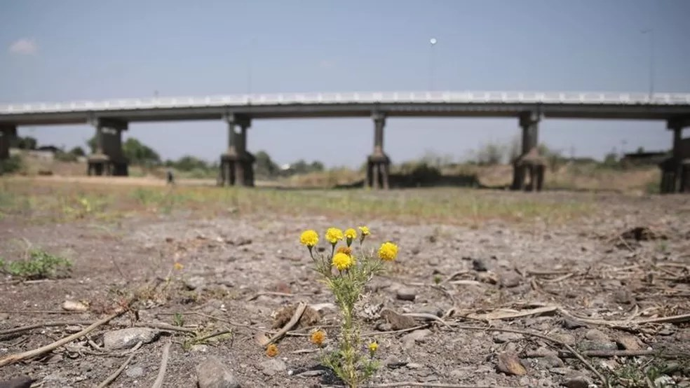Condições de calor podem levar a secas prolongadas e escassez de água — Foto: Getty Images/Reprodução via BBC