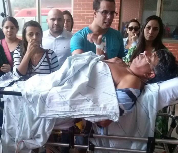 Prefeito de Tocantínia foi baleado na festa de aniversário — Foto: Divulgação