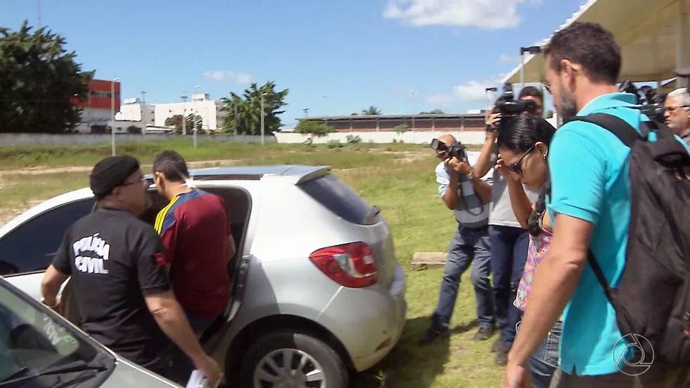 Casal estava preso desde o dia 12 de maio após etapa da 'Gabarito' em João Pessoa (Foto: Reprodução/TV Cabo Branco)