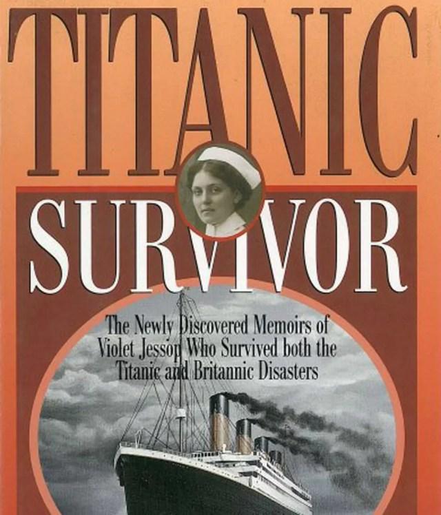 Em 1998, depois do sucesso do filme 'Titanic', os sobrinhos de Violet decidiram publicar suas memórias sobre os acidentes (Foto: Reprodução/Amazon)