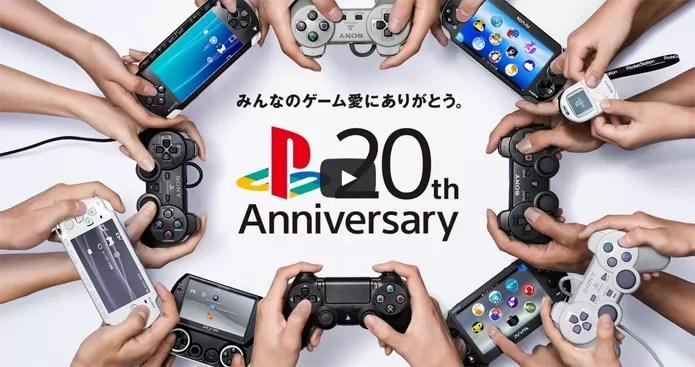 PSOne completa 20 anos e Sony relembra a marca PlayStation (Foto: Divulgação)