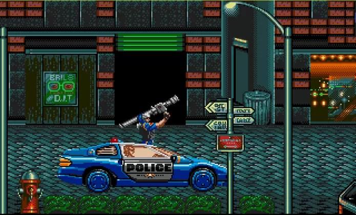Resultado de imagem para street of rage 1 carro de policia