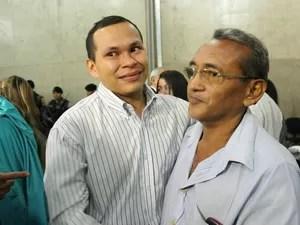Edney Costa Gomes (à esquerda) foi absolvido (Foto: Ive Rylo/G1 AM)