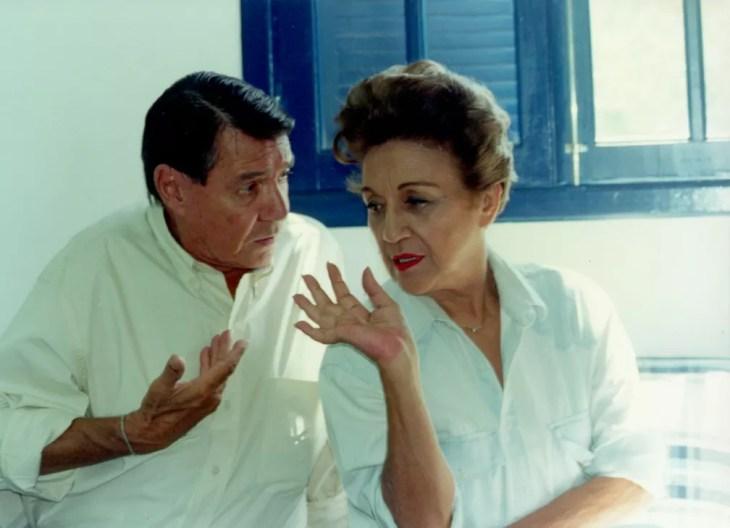 John Herbert e Nair Bello em Malhação — Foto: Nelson Di Rago/Globo