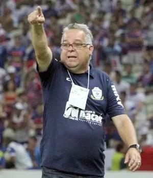 Josué teixeira, macaé x fortaleza (Foto: Tiago Ferreira)