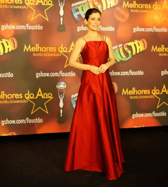 Renata Vasconcellos no Prêmio Melhores do Ano (Foto: Marcos Serra Lima / EGO)