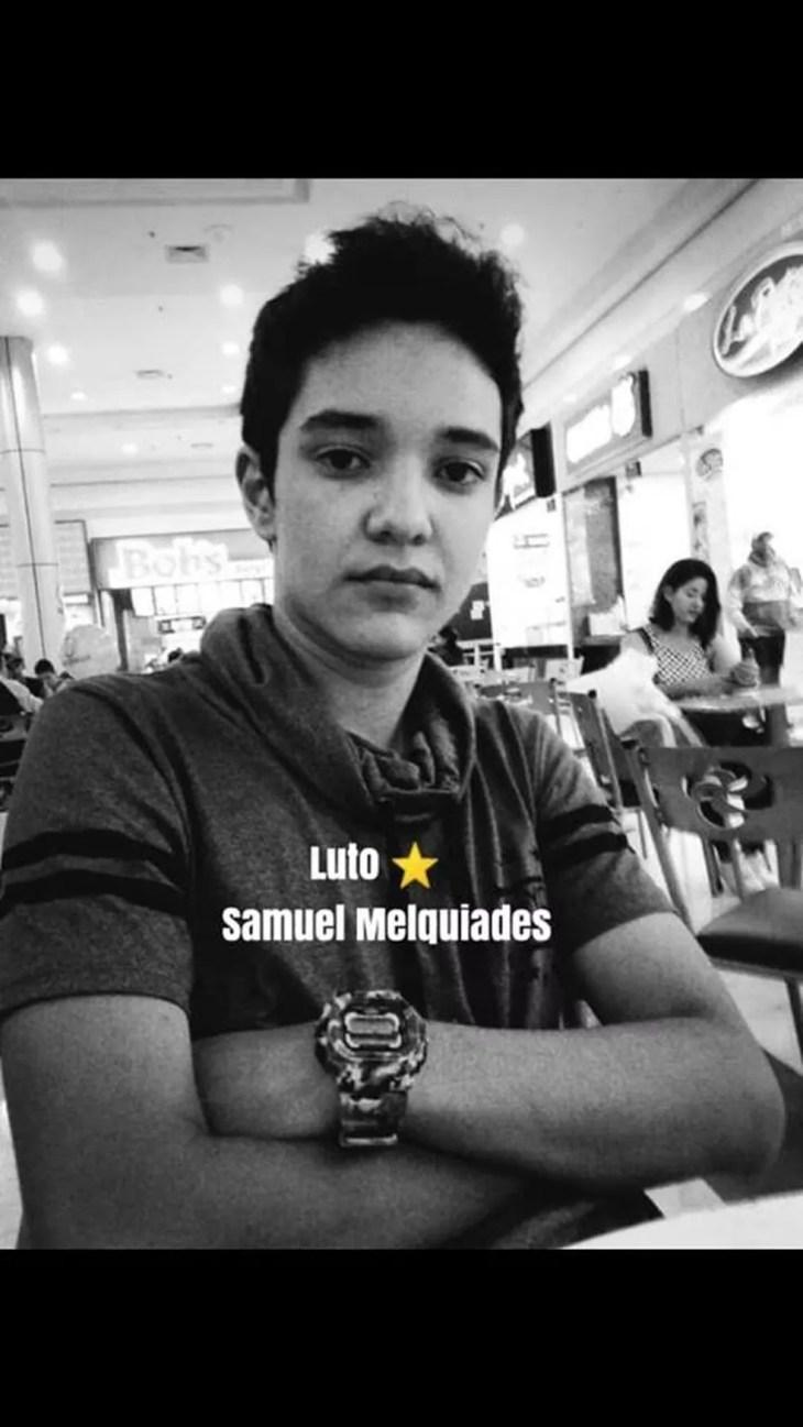 Samuel Melquíades é uma das vítimas do massacre em Escola Estadual de Suzano. — Foto: Reprodução Facebook.