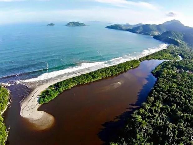 7 Maravilhas do Vale - Praia da Puruba (Foto: Glauco Vieira/ Arquivo pessoal)
