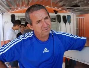 Ricardo Bezerra, presidente da Federação Paraibana de Canoagem (Foto: Lucas Barros / Globoesporte.com/pb)