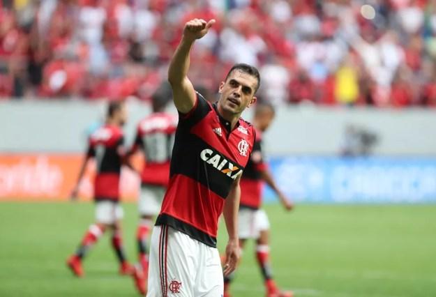 Rhodolfo voltou ao time após quase dois meses (Foto: Gilvan de Souza/GloboEsporte.com)