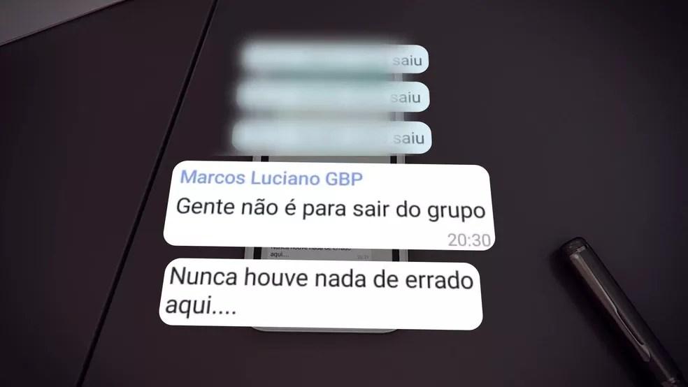 Após veiculação de reportagem sobre os 'Guardiões do Crivella', grupo do Whatsapp sofre debandada de participantes — Foto: Reprodução/ TV Globo