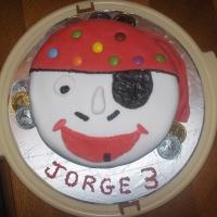 Pirate Birthday Cake Recipe