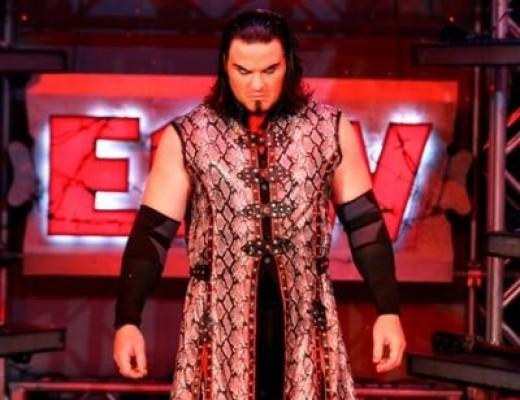 Vampire wrestler Kevin Thorn