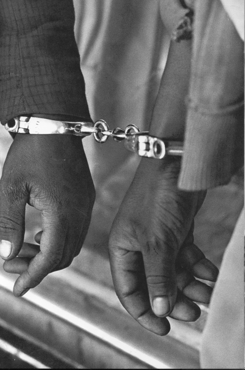 The coming of the Apartheid regime and it's pass laws and surveillance of the African population through the Pass Laws, was the beginning of the shackling of the African population.