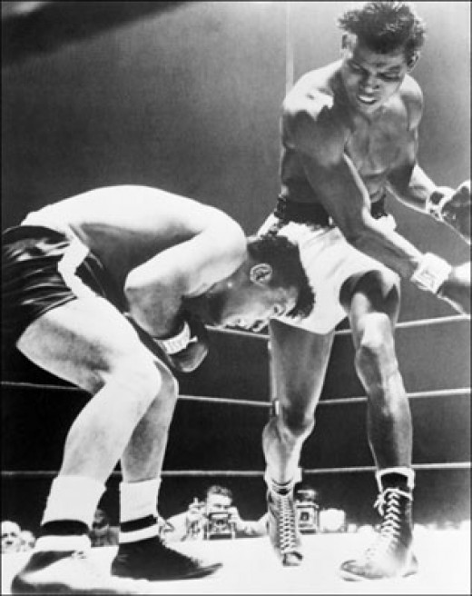 Number Three Boxer of all time - Sugar Ray Robinson
