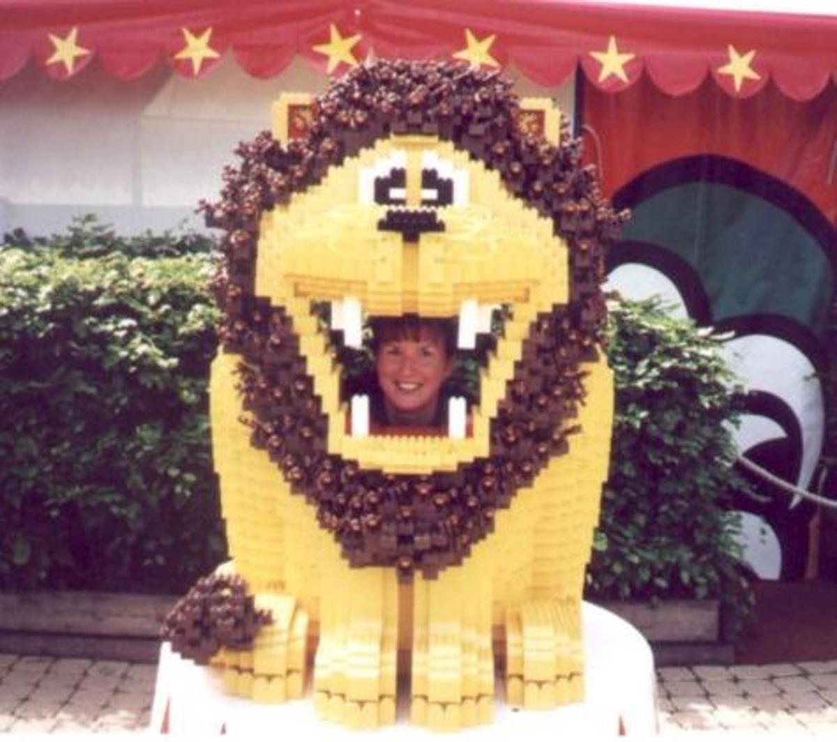 A lego lion:)