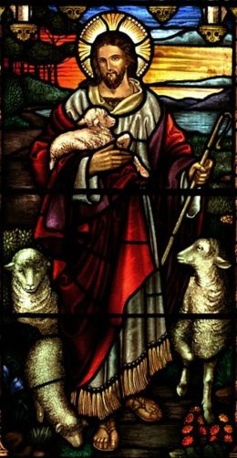Jesus Christ- the founder of Christianity who sacrificed his life on the cross to guarantee the salvation of humanity.