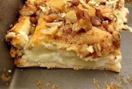 Apple Cream Cheese Bar