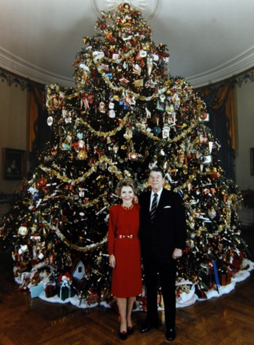 White House Christmas Trees First Ladys Special Themes
