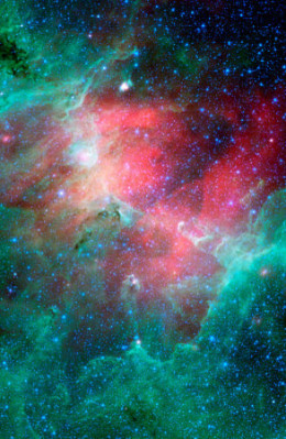 This is called- Eagle nebula simple                         Beautiful!