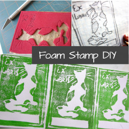 Stamping doesn't have to be complicated or expensive to create beautiful images.