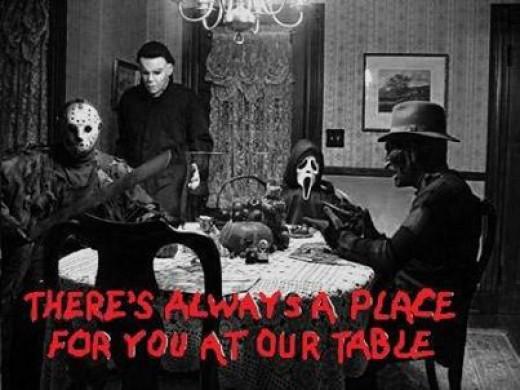HORRIFIC dinner hosts