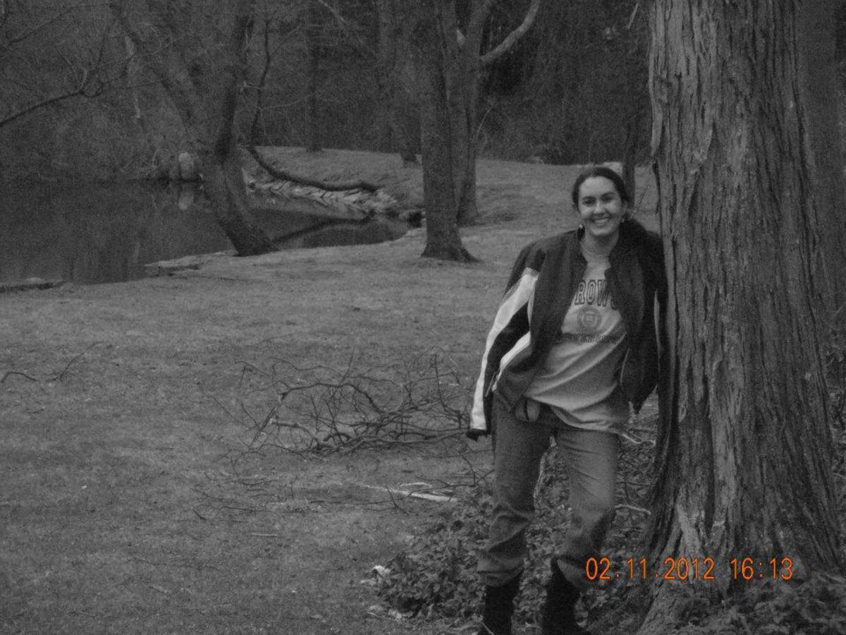 Ok I DO have a 2012 pic. This is in my Aunt & Uncle's back yard
